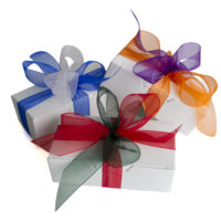 Bowed Gift Box | Heavenly Fudge