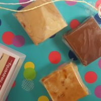 Gift wrapped fudge gift box | Heavenly Fudge
